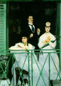 Målning av Eduoard Manet