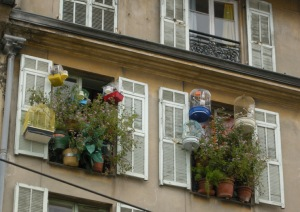 Fönster i Nice