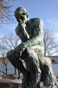 Tänkaren. Auguste Rodin.