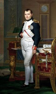 Napoleon 1812 målad av Jacques-Louis David.