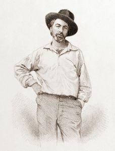 Walt Whitman, omkring 1855