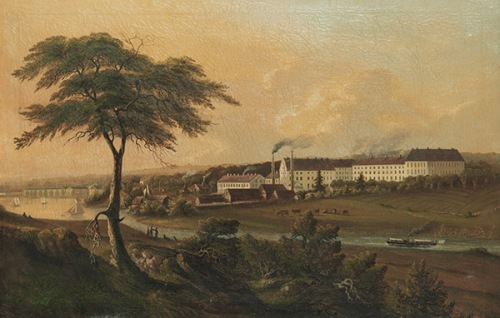 Rörstrand_porslinsfabrik,_okänd_konstnär,_1860-tal
